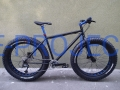 BUSTER - FAT BIKE Black&Blue Deore 19,5""