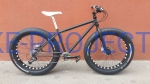BUSTER - FAT BIKE Black&White Deore 17""