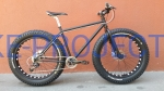 BUSTER - FAT BIKE Black&White Deore 19,5""