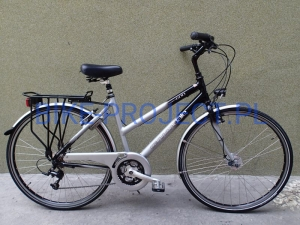 Rower trekkingowy CANNONDALE - STREET 600  (Deore)